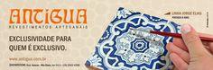 Cliente: Cerâmica Antigua  Campanha: Exclusividade para quem é exclusivo.
