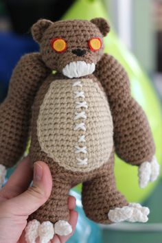 PATTERN: Tibbers from League of Legends Amigurumi Doll