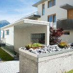 Allgemeinteile #concrete #garden #plant #fairfacedconcrete #architecture Innsbruck, Concrete Garden, Architecture, Outdoor Decor, Plants, Home Decor, Commercial Real Estate, Country Living, Environment