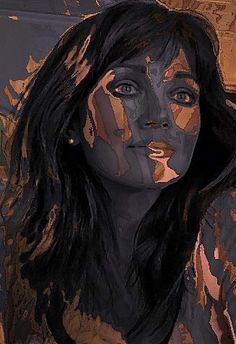 Artistic portrait