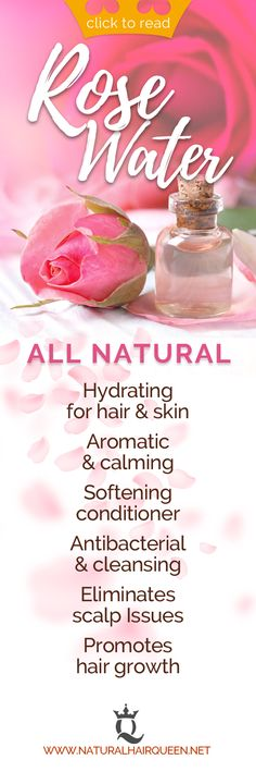 The Benefits of Rose Water for your Natural Hair Natural Hair Care Tips, Long Natural Hair, Natural Hair Growth, Natural Hair Styles, Natural Curls, Hair Shrinkage, Natural Hair Moisturizer, Natural Hair Inspiration, Hair Care Routine