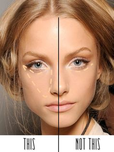 If you think that applying a concealer is so simple that it doesn't need to be explained, just remember that very few women actually get it totally right.