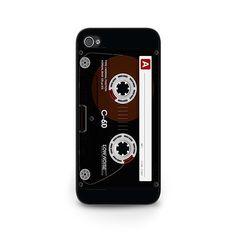 Cassette Tape Cell Phone Case - cassette tape samsung galaxy s6 case - retro cassette tape holder case - vintage 70s phone case is available at $15.00 http://etsy.me/1VUwJUW  #case #cellphone #cassette #vintagestyle #retrostyle