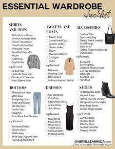 Capsule Wardrobe Essentials, Capsule Outfits, Fashion Capsule, Wardrobe Basics, Fashion Essentials, New Wardrobe, Style Essentials, Minimalist Wardrobe Essentials, Outfit Essentials