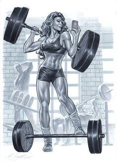 She-Hulk by Marco Santucci *