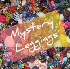 NEW S//M Kids Leggings LuLaRoe LOT OF 6 Mystery Prints floral geomtetric aztec