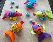 Chouette idée deco chambre enfant et bebe! 100% handmade!