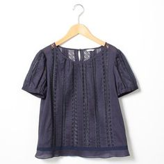 Lace blouse / ShopStyle: [イエナ]レースピンタックブラウス