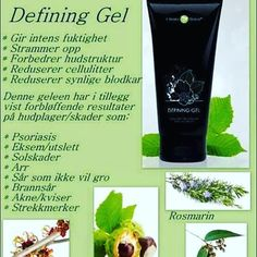 Defining gel har også vist forbløffende resultater på flere forskjellige vanlige hudplager