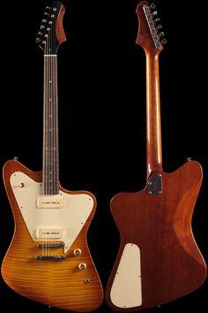 632eadd0854 Fano Alt de Facto PX6 Light Tobacco Burst (207) Gibson Guitars