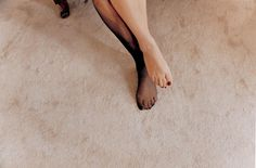 Elinor Carucci, One Stocking, 1996