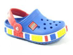 Crocs Crocband Kids Lego Sea Blue-Red Kids Kids Footwear