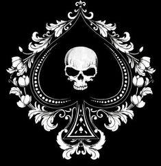 Red Nose Pitbull Puppies For Free Tattoo Ace Of Spades Tattoo, Emo Tattoos, Skull Tattoos, Wolf Tattoos, Red Nose Pitbull Puppies, Bully Pitbull, Crane, Spade Symbol, Tarot