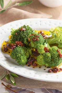 Sautéed Broccoli with Sun Dried Tomatoes Cooking Recipes, Healthy Recipes, Healthy Dinners, Sun Dried, Plant Based Diet, Light Recipes, Healthy Life, Food And Drink, Dinner Recipes