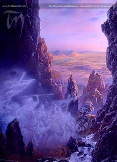 The King of the Oathbreakers | Ted Nasmith - Tolkien Illustrator - Renderer - Musician