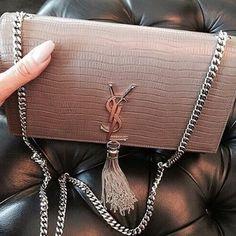YSL, bag, and fashion image Luxury Bags, Luxury Handbags, Purses And Handbags, Cute Bags, Purse Wallet, Ysl Purse, Clutch Bag, My Bags, Fashion Bags