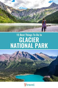 Glacier NP is incredible. Check out this list of 15 best things to do in Glacier National Park including tips on how to get there, best hikes, scenic drive, wildlife spotting, Lodge and where to stay. Things to do in and around this beautiful US destination, and where to stay, and tips for travel and hiking with kids | National Parks | Montana Travel | USA Travel | Family Travel | Hiking | National Park | Vacation | Adventure  #Montana #USAtravel #NationalParks #NationalPark #Montanatravel