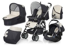 Hauck Condor All in One Pram and Pushchair Travel System- Mickey Mouse. Great idea
