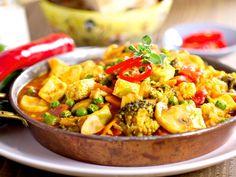 Tofu-Curry mit Gemüse