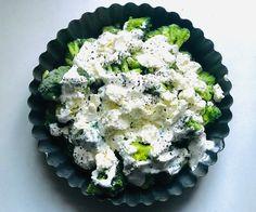 Sütőben sült fetás-joghurtos brokkoli - HENI SÜT NEKED Feta, Vegetarian Recipes, Ethnic Recipes, Vegetable Dip Recipes