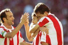 Cripes. Joseba Etxeberria, Aritz Aduriz, and Igor Gabilondo from back in the day.