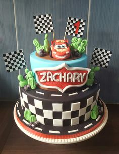 Cooking In Melbourne Lightning Mcqueen Car Cake more at Recipinscom