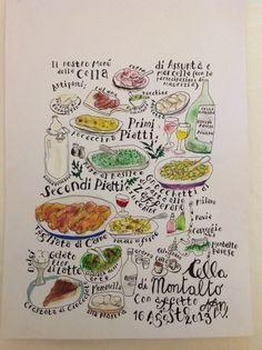L'artista  francese delle moleskine ci ha dedicato una pagina .... Grazie Dan!