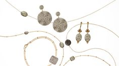 Gioielli by Nikki Baker - Inspired by the ocean and ancient architecture, these eye-catching jewelry pieces offer a bold final touch to any ensemble.