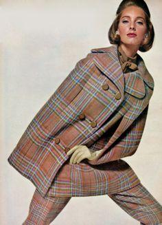 1963 Vogue editorial shot by Bert Stern