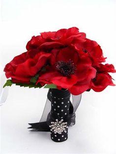 Anemones Wedding Flowers