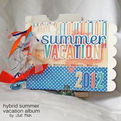 Scrap Like a Sugarbabe: Hybrid Album by Juli Fish