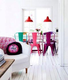 Bohemian decor room