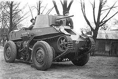 Landsverk L-30 Easy wheel-tracked Tank