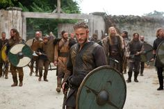 AWESOME series that will return for a second season next year!  woohoo.. I loves me some Vikings.  Travis Fimmel as the famous Ragnar Lothbrok in the new TV show Vikings (3/3/13)