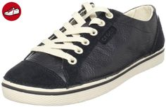 Crocs Hover Lace Up Leather Womens, Black/Stucco, 4 UK, B - Crocs schuhe (*Partner-Link)