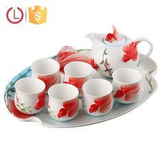 Porcelain 8pcs goldfish design tea set for home, View Porcelain tea set , YOU LAI FU Product Details from Shenzhen Youlaifu Household Company Limted on Alibaba.com