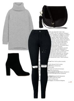 """""""Untitled #100"""" by sufferingly on Polyvore featuring Balmain, Acne Studios and Rebecca Minkoff"""