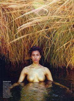 Imaan nackt Hammam Obsessed: Model