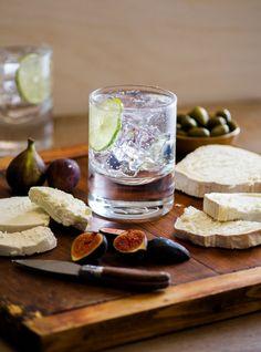 gin & tonic & cheese