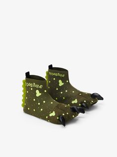 DINOSAUR SLIPPERS You are in the right place about kids costumes fireman Here we offer you the most Zara Home Stores, Zara United States, At Home Store, Halloween Costumes For Kids, Kids House, Boys Shoes, Shoes Online, Boy Outfits, Slippers