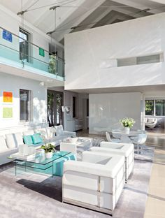 Modern Living Room By KA Design Group And Leroy Street Studio In East  Hampton, New