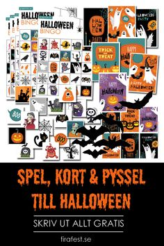 3 små spel, kort, etiketter och fladdermusdekorationer - skriv ut massvis med Halloweenstämning med vårt halloweenpysselkit!  #halloween #halloween2019 #halloweenpyssel #halloweengratis #halloweendekorationer #halloweenfest #halloweenbarn #halloweenlekar #halloweenspel #firafest #grapevine #gratis Boo Halloween, Halloween Bingo, Halloween 2019, Halloween Treats, Happy Halloween, Halloween Decorations, Party Hacks, Grape Vines, Happiness
