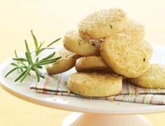 Lemon-Rosemary Butter Cookies