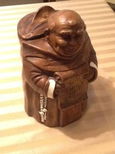cookie jars collectibles | Cookie Jar Collectible- Monk