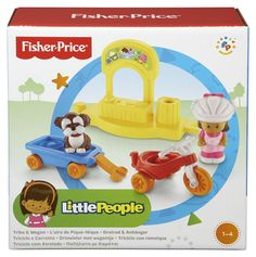 Fisher-Price Little People Trike and Wagon Playset $9.97 - http://couponingforfreebies.com/fisher-price-little-people-trike-wagon-playset-9-97/