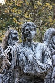 Weeping Angel + Vashta Nerada. Count the shadows and don't blink! Oh wow this is terrifying!