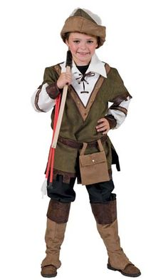 Kids Forest Robin Hood Costume