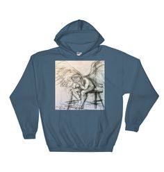 Buy unique print-on-demand products from independent artists worldwide or sell your own designs at the drop of an image! Hoodies, Sweatshirts, Online Printing, Graphic Sweatshirt, How To Make, Stuff To Buy, Fashion, Moda, Fashion Styles