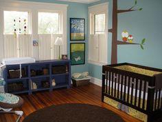 Nursery with Tree Decal