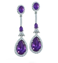 Purplebear's Jewelry - amethyst jewelry and other purple jewelry.